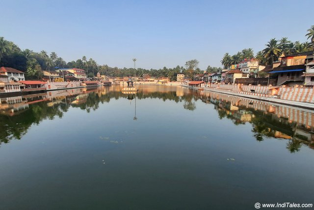 Landscape view of the Koti Tirtha - Places to visit in Gokarna