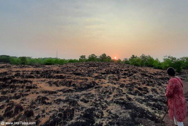 Sunrise scene - Places to visit in Gokarna