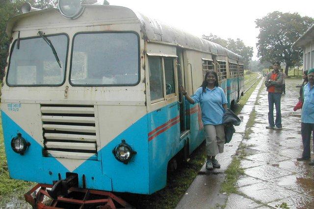 Meter Gauge Indian Railways locomotive journey