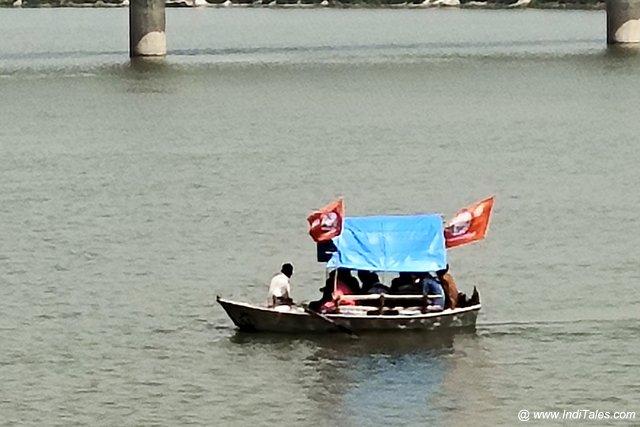 Boats on Ganga