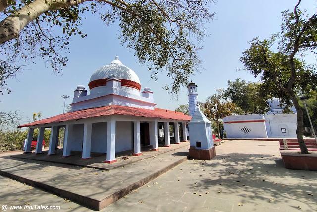 Landscape view of Valmiki Ashram at Bithoor
