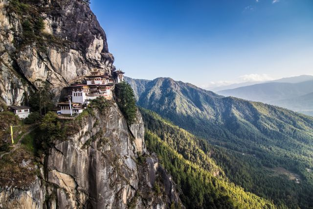Taktsang monastery, popularly called Tigers nest, Bhutan History, Heritage & Culture