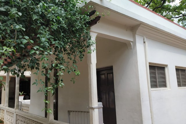 Ramana Maharshi room