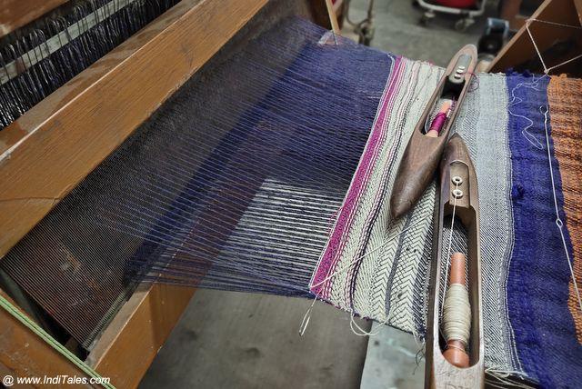 Handloom Silk Weaving - Silk Route of Bengaluru
