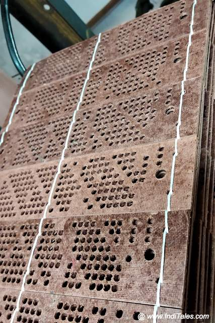 Punch Cards in Action on the Silk Route of Bengaluru