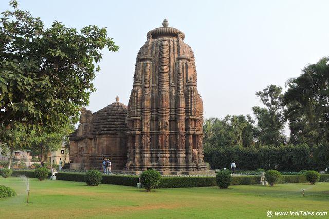 Popular Rajarani temple, Bhubaneshwar