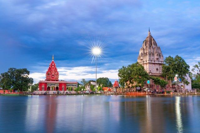 Shyama Mai Temple and Shiv Temple, Darbhanga, Bihar, India