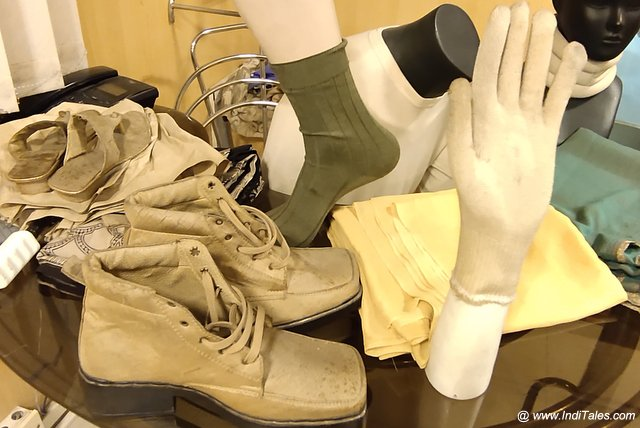 Shoes, Socks, Gloves and Shawls in Silk