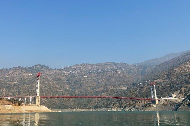 Dobra Chanti Suspension Bridge